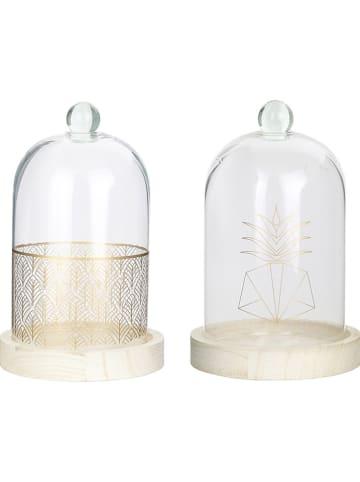 Rétro Chic Glockenglas in Gold - (B)12 x (H)19,2 cm (Überraschungsprodukt)