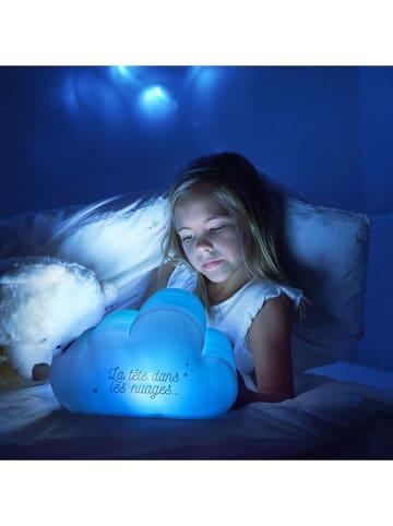 The Home Deco Kids Lampka nocna LED w kolorze niebieskim - 25 x 15 x 12 cm