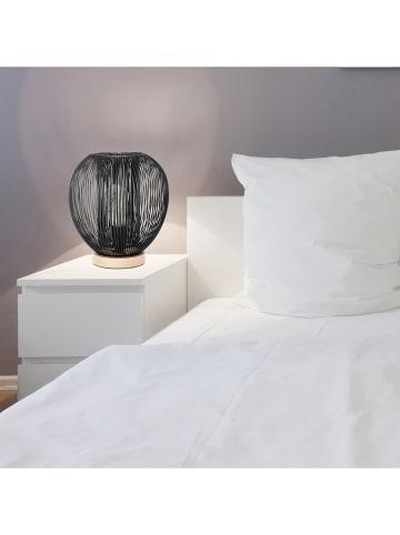 THE HOME DECO FACTORY Tafellamp zwart - Ø 26 cm