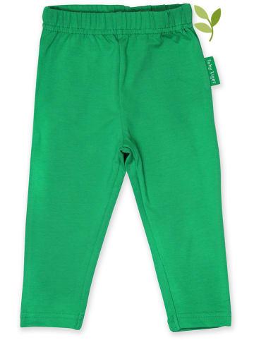 Toby Tiger Legginsy w kolorze zielonym