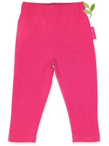 Toby Tiger Legginsy w kolorze różowym