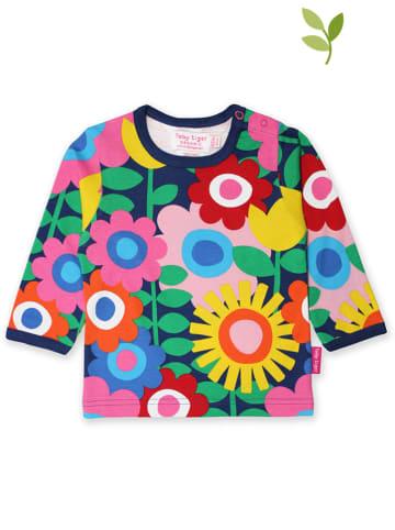 Toby Tiger Koszulka w kolorze granatowym ze wzorem