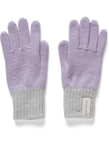 Steiff Rękawiczki w kolorze fioletowo-szarym