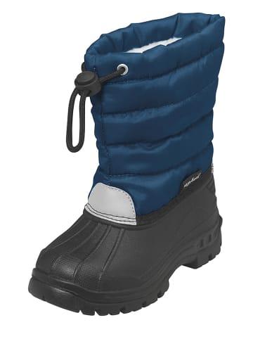 Playshoes Kozaki zimowe w kolorze niebieskim
