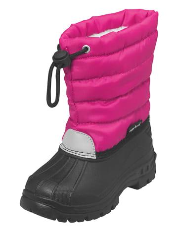 Playshoes Kozaki zimowe w kolorze różowym
