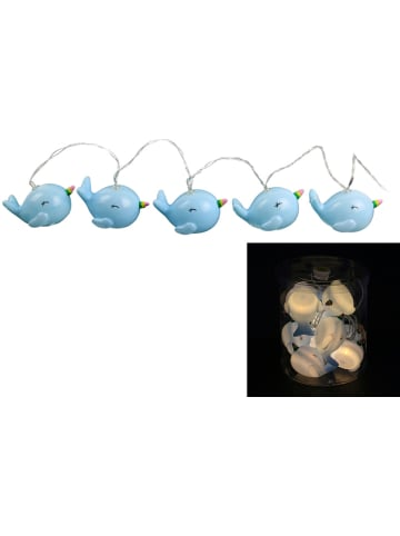 "The Home Deco Kids Ledlichtketting ""Wale"" lichtblauw - (L)165 cm"