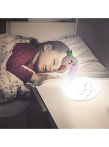 "The Home Deco Kids Nachtlampje ""Zwaan"" wit - (B)20 x (H)20 x (D)10 cm"