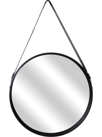 THE HOME DECO FACTORY Wandspiegel zwart - (B)50 x (H)65,5 x (D)4 cm