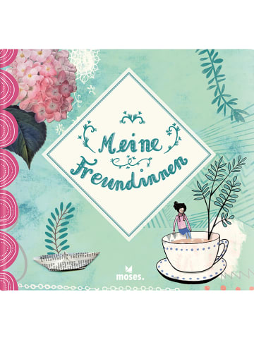 """Moses. Freundebuch """"Meine Freundinnen"""" in Hellgrün"""