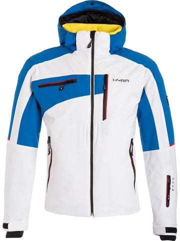 "Hyra Ski-/snowboardjas ""Kitzbuehel"" wit/blauw"