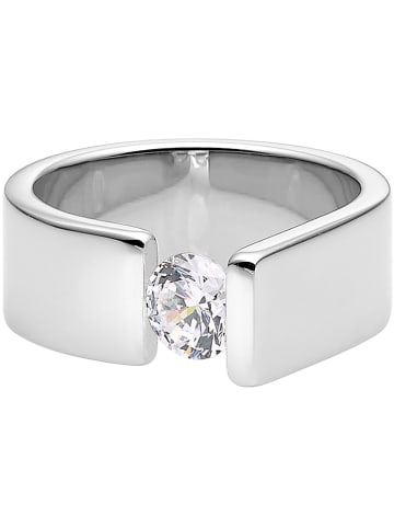 Steel_Art Ring met edelsteen
