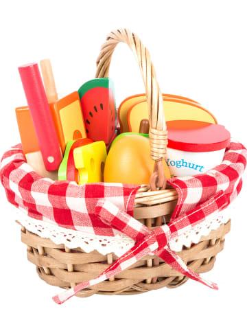 Small foot Picknickkorb mit Lebensmitteln - ab 3 Jahren