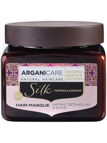 """Argani Care Haarmaske """"Silk - für strapaziertes Haar"""", 500 ml"""