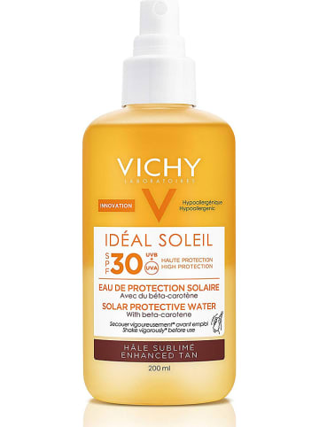 """Vichy Spray przeciwsłoneczny """"Idéal Soleil Enhanced Tan"""" - SPF 30 - 200 ml"""