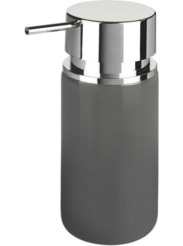 """Wenko Zeepdispenser """"Silo"""" grijs/chroomkleurig - 250 ml"""