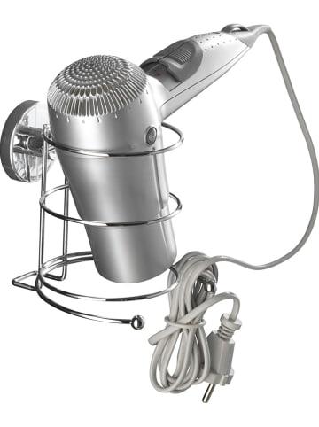 """Wenko Uchwyt """"Vacuum-Loc"""" w kolorze srebrnym na suszarkę - 13,5 x 13,5 x 13 cm"""