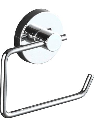 "Wenko Roestvrijstalen toiletrolhouder ""Milazzo"" - (B)13,5 x (H)17,5 x (D)16 cm"