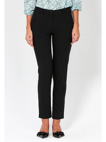 ZOCHA Spodnie w kolorze czarnym