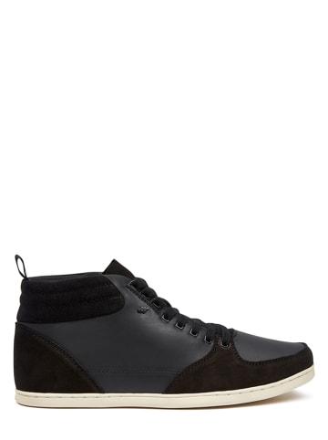 """MUSTANG SHOES Leren sneakers """"Eplett"""" zwart"""
