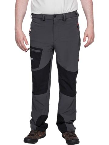 """Trespass Spodnie funkcyjne """"Passcode"""" w kolorze szaro-czarnym"""