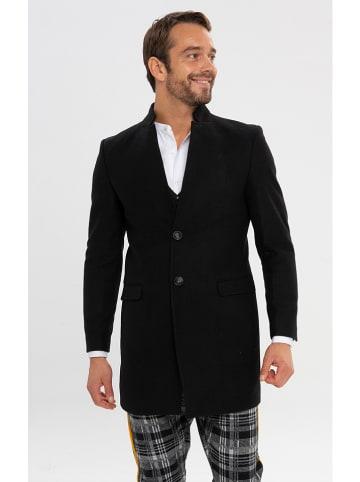 Ron Tomson Płaszcz w kolorze czarnym