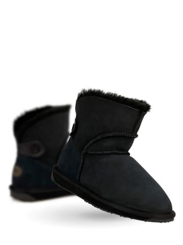 "EMU Leder-Winterboots ""Alba Mini"" in Schwarz"