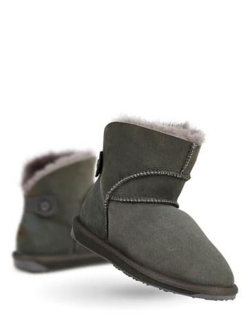 """EMU Leren winterboots """"Alba Mini"""" grijs"""