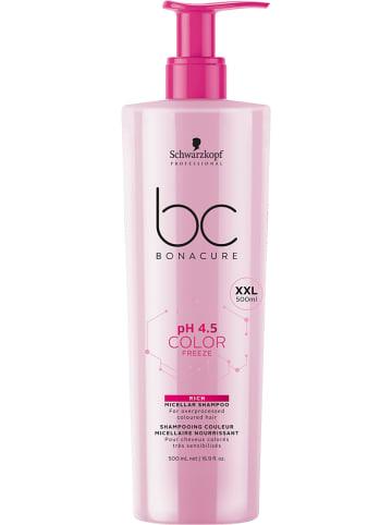 "Schwarzkopf Professional Mizellen-Shampoo ""BC pH4.5 Color Freeze Rich"", 500 ml"