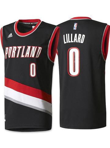 "Adidas Functionele top ""Portland"" zwart/rood"