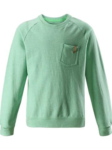 """Reima Koszulka """"Cove"""" w kolorze zielonym"""