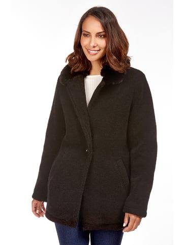 Snowie Collection Płaszcz w kolorze czarnym