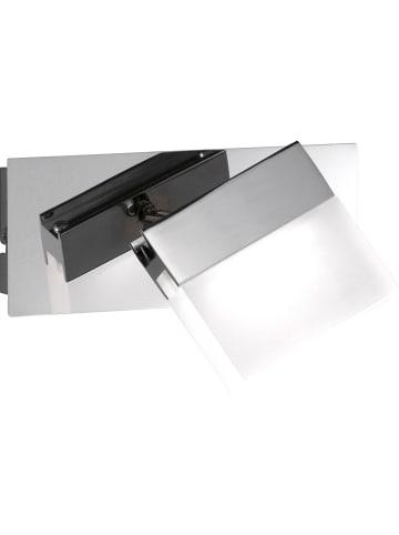 """WOFI Lampa sufitowa LED """"Sonett - Spa Line"""" w kolorze srebrym - 15 x 10 cm"""