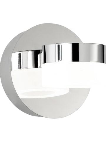 "WOFI Ledwandlamp ""Luce - Spa Line"" chroomkleurig - Ø 12 cm"