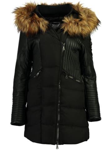 Stone Goose Płaszcz zimowy w kolorze czarnym