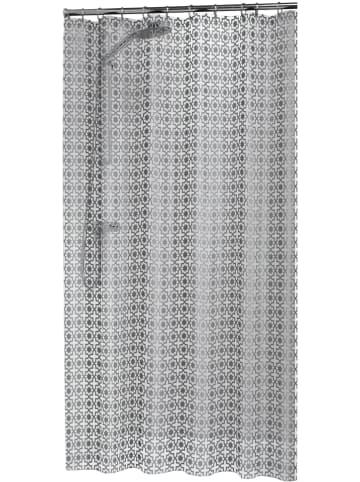 Sealskin Duschvorhang in Silber - (L)180 x (B)200 cm