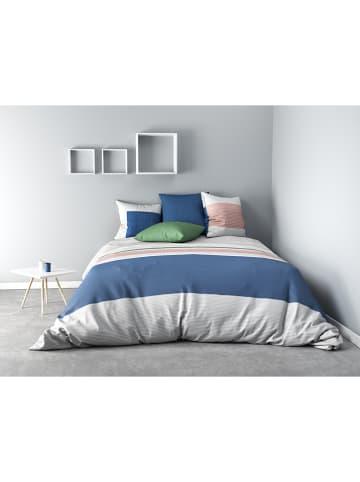 """My Home Beddengoedset """"Fils"""" blauw/grijs"""