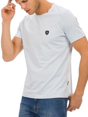 Galvanni T-shirt w kolorze jasnoniebieskim