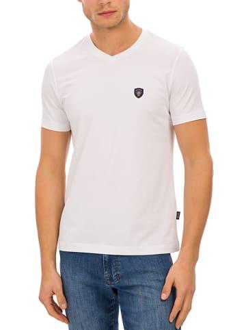 Galvanni T-shirt w kolorze białym
