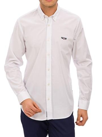Galvanni Hemd in Weiß