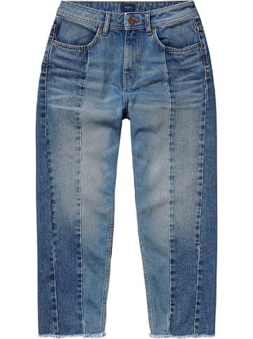 """Pepe Jeans Dżinsy """"Patchy"""" - Relaxed fit - w kolorze niebieskim"""