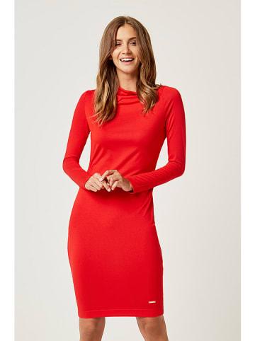 SCUI STUDIOS Sukienka w kolorze czerwonym