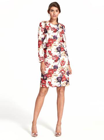 Nife Kleid in Weiß/ Rot/ Lila
