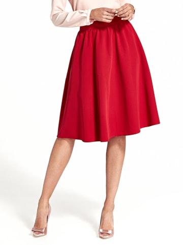 Nife Spódnica w kolorze czerwonym