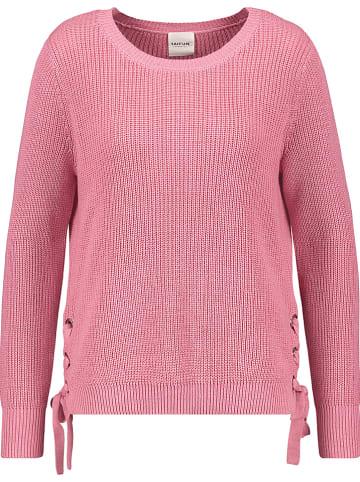 TAIFUN Sweter w kolorze jasnoróżowym