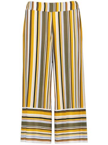 TAIFUN Spodnie ze wzorem