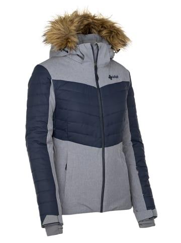 "Kilpi Ski-/ Snowboardjacke ""Breda W""  in Grau/ Dunkelblau"