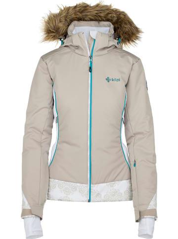 "Kilpi Ski-/ Snowboardjacke ""Vera W"" in Beige"