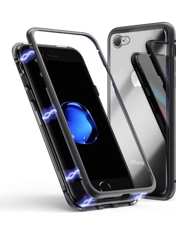 SmartCase Full body case voor iPhone 7/8 zwart