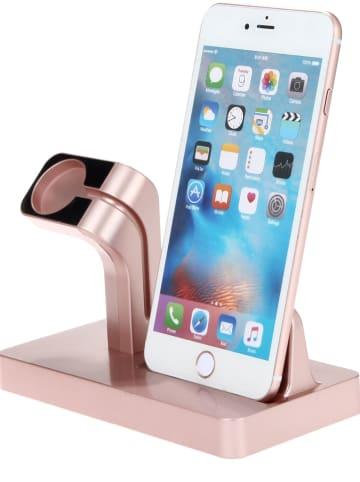 SmartCase Lightning-Docking-Station für iPhone und Apple Watch in Roségold