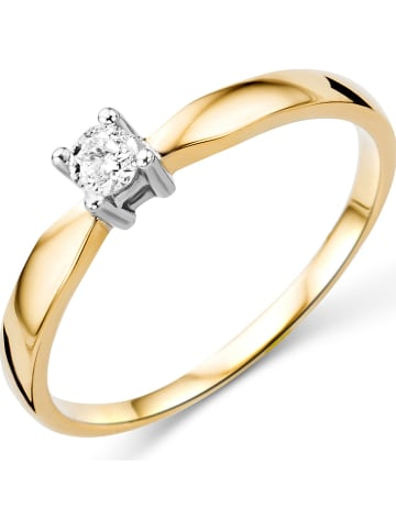 Revoni Gouden ring met diamant